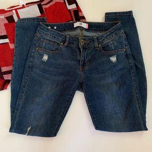 Cabi skinny jeans - Distressed - Size 2